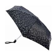 Fulton Luxury Leopard Tiny-2 Compact Umbrella